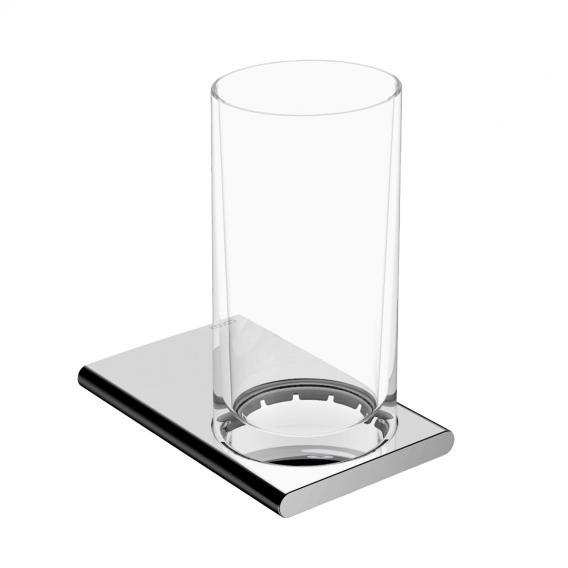 Keuco Edition 400 Glashalter mit Glas chrom