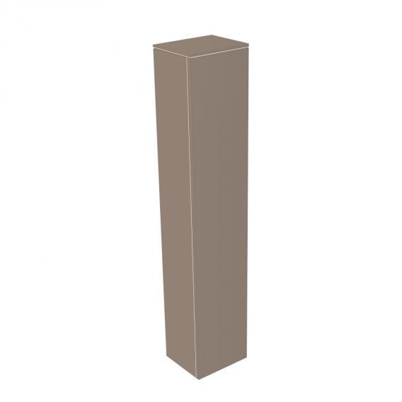 Keuco Edition 400 Hochschrank mit 1 Tür Front trüffel struktur/Korpus trüffel struktur