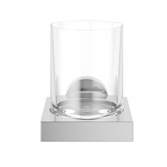 Keuco Edition 90 Glashalter mit Echtkristall-Glas