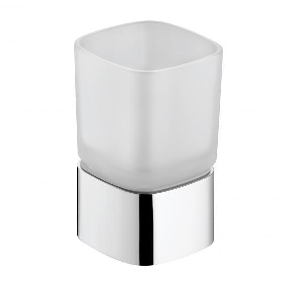 Keuco Elegance Glashalter mit Echtkristall-Glas