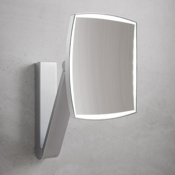 Keuco iLook_move Kosmetikspiegel, Unterputz-Netzteil, LED-Beleuchtung