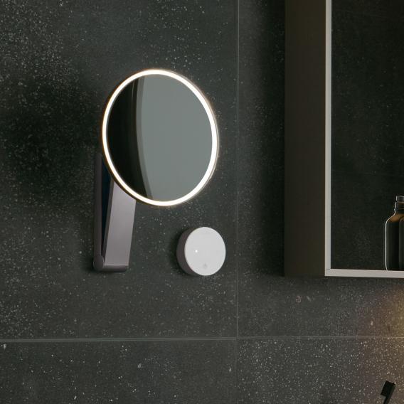 Keuco iLook_move Miroir cosmétique, câblage encastré, luminosité réglable
