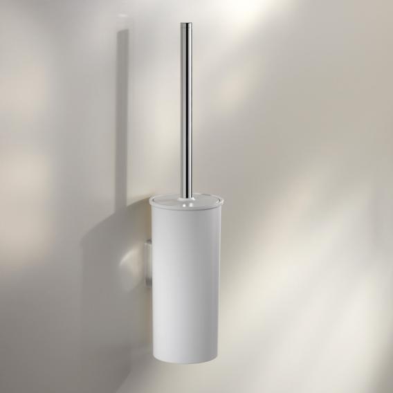 Keuco Moll Toilettenbürstengarnitur chrom/weiß