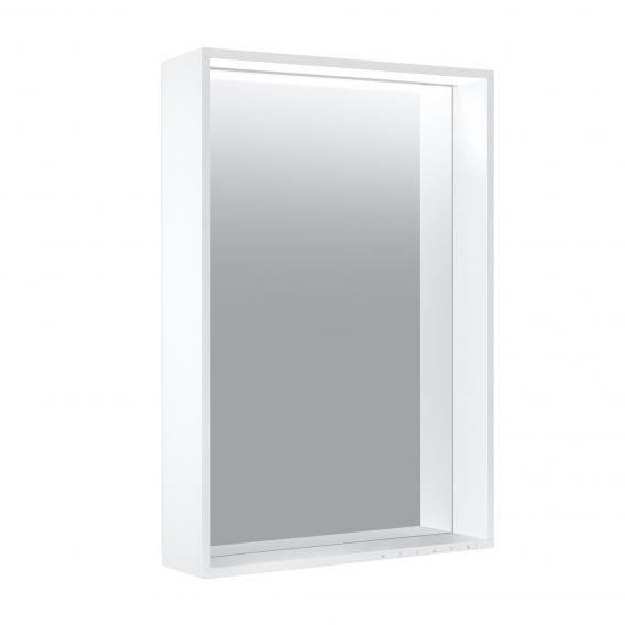 Keuco Plan Spiegel mit LED-Beleuchtung Farbtemperatur einstellbar, mit Spiegelheizung
