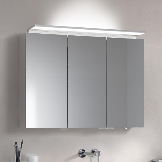 Keuco Royal L1 Aufputz-Spiegelschrank mit 3 Türen und 2 Schubkästen
