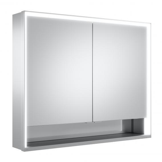Keuco Royal Lumos Aufputz-Spiegelschrank mit LED-Beleuchtung mit 2 Türen