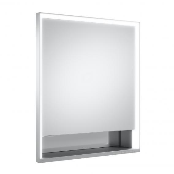 Keuco Royal Lumos Unterputz Spiegelschrank mit DALI-LED-Beleuchtung mit 1 Tür