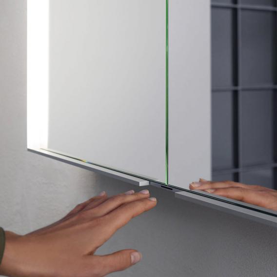 Keuco Royal Match Wandeinbau-Spiegelschrank mit LED-Beleuchtung