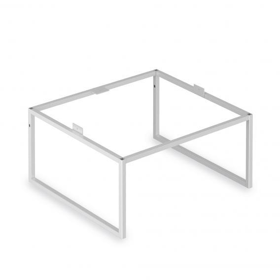 Keuco X-Line Bodengestell weiß seidenmatt