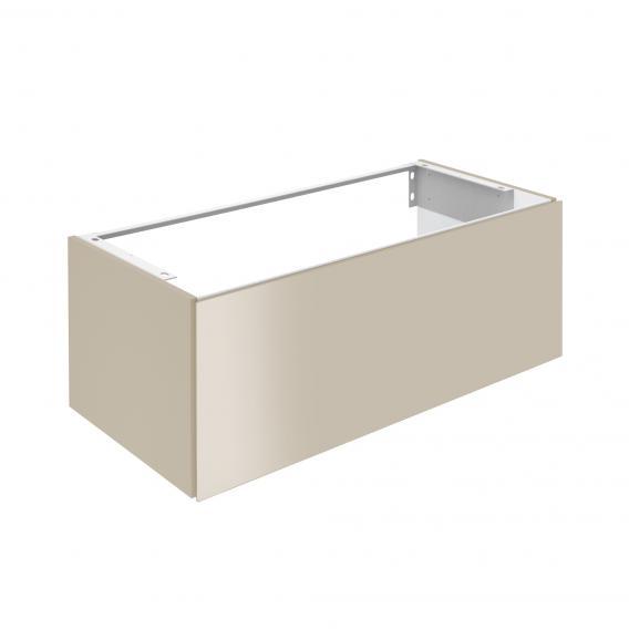 Keuco X-Line Waschtischunterschrank für Einbauwaschtisch mit 1 Auszug Front cashmere / Korpus cashmere matt