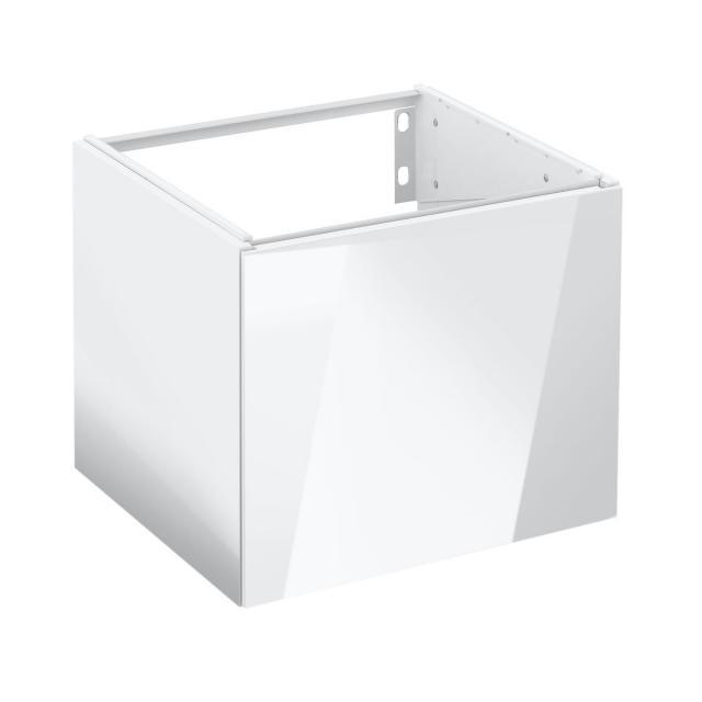 Keuco Edition 11 Handwaschbeckenunterschrank mit 1 Tür Front Lack weiß hochglanz/Korpus Lack weiß hochglanz