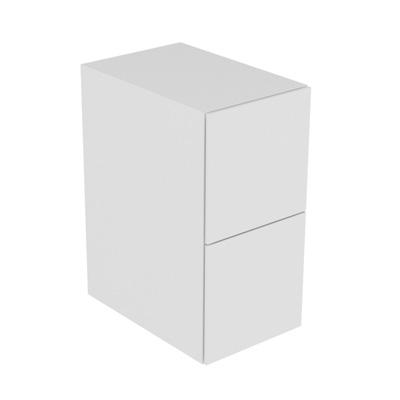 Keuco Edition 11 Sideboard mit 2 Auszügen Front Strukturlack weiß/Korpus Strukturlack weiß