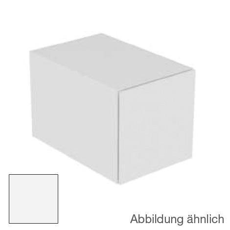 Keuco Edition 11 Sideboard mit 1 Auszug und LED-Innenbeleuchtung Front Strukturlack weiß/Korpus Strukturlack weiß