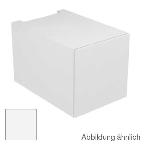 Keuco Edition 11 Unterschrank mit 1 Auszug und LED-Innenbeleuchtung Front Strukturlack weiß/Korpus Strukturlack weiß