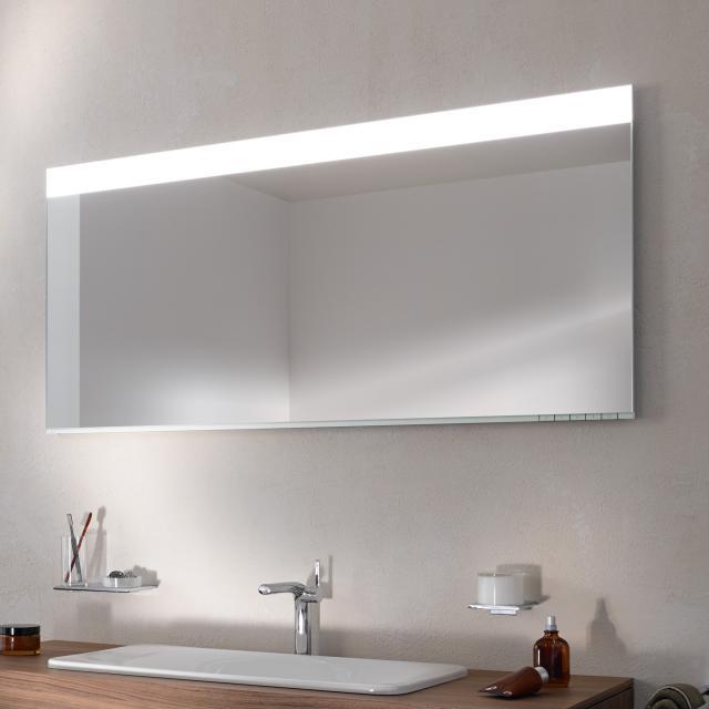 Keuco Edition 400 LED-Lichtspiegel Farbtemperatur einstellbar, mit Spiegelheizung