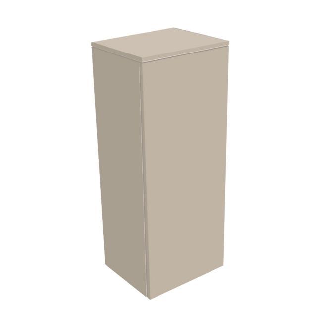 Keuco Edition 400 Mittelschrank mit 1 Tür Front: cashmere struktur / Korpus: cashmere struktur