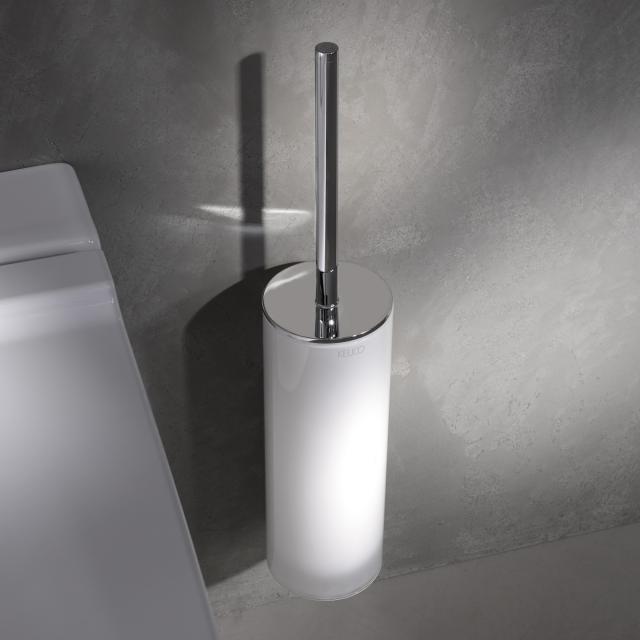 Keuco Edition 400 Toilettenbürstengarnitur chrom