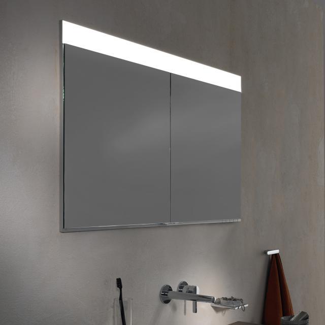 Keuco Edition 400 Unterputz-Spiegelschrank mit DALI-LED-Beleuchtung mit Spiegelheizung