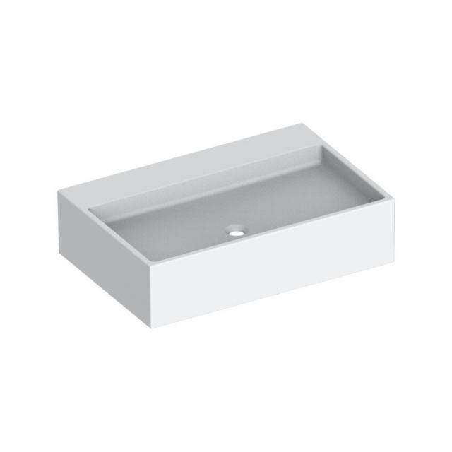 Keuco Edition 90 Mineralguss-Waschtisch weiß, ohne Hahnloch