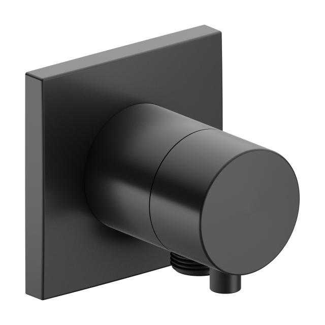 Keuco IXMO 2-Wege Ab- und Umstellventil mit Schlauchanschluss schwarz chrom gebürstet