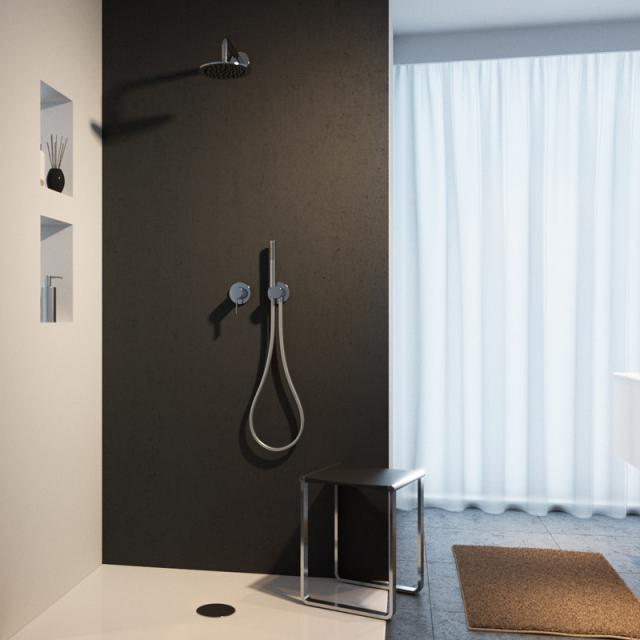 Keuco IXMO Duschsystem, mit Einhebelmischer IXMO, rund