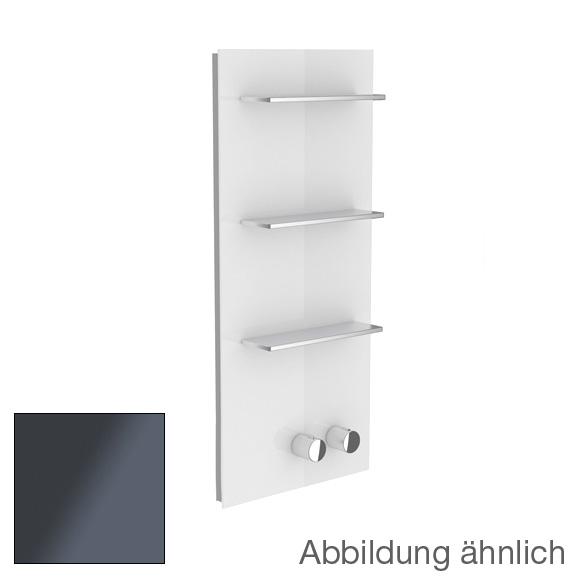 Keuco meTime_spa Thermostatbatterie, für 1 Verbraucher, Griffe rechts Glas anthrazit