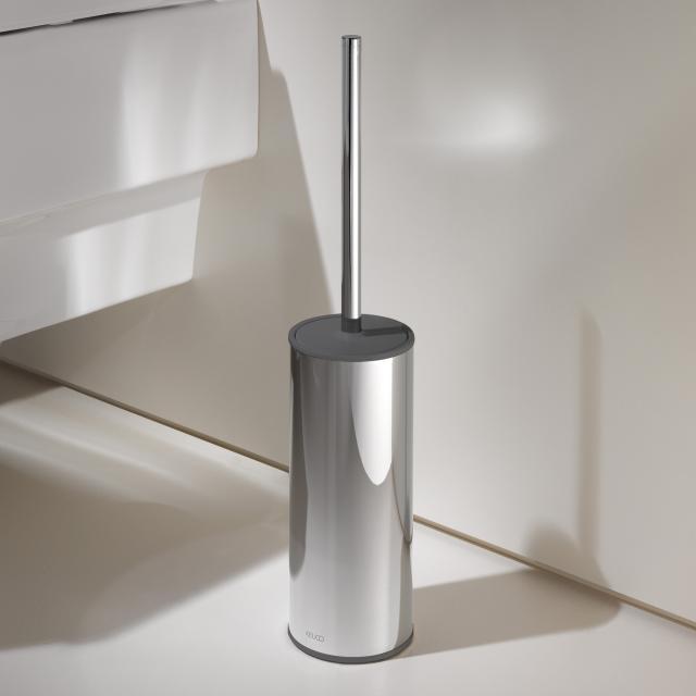 Keuco Moll Toilettenbürstengarnitur, Standmodell chrom/anthrazit