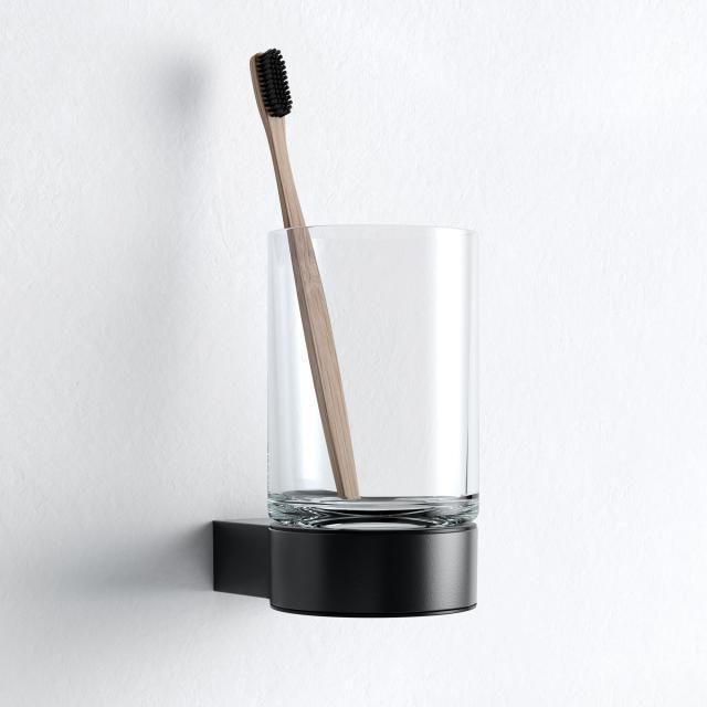 Keuco Plan Black Selection Glashalter