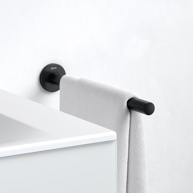 Keuco Plan Black Selection Handtuchhalter 1-teilig, feststehend