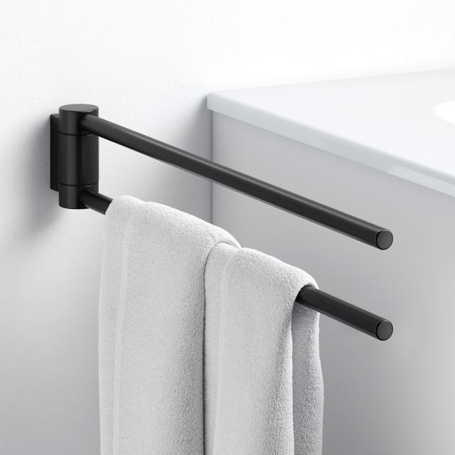 Keuco Plan Black Selection Handtuchhalter