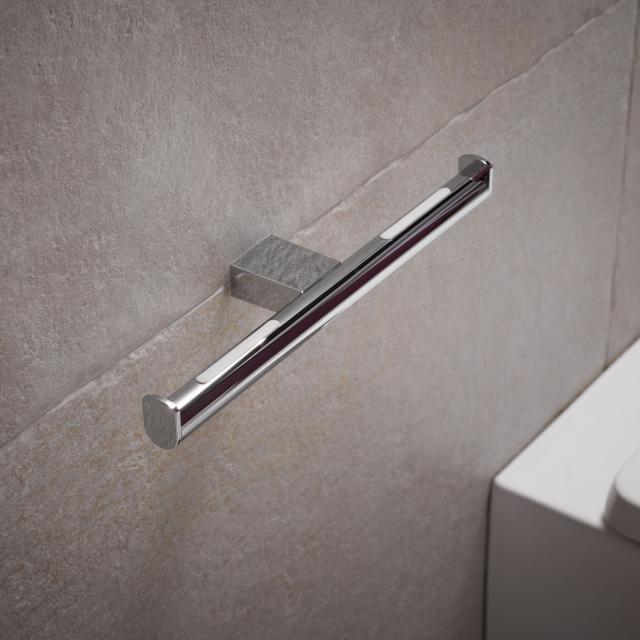 Keuco Plan Doppel-Toilettenpapierhalter chrom