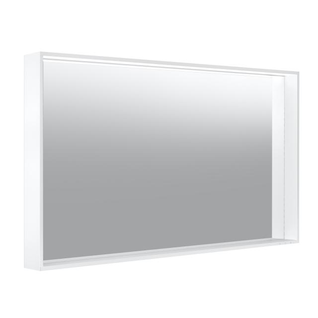 Keuco Plan Spiegel mit LED-Beleuchtung warmweiß, ohne Spiegelheizung