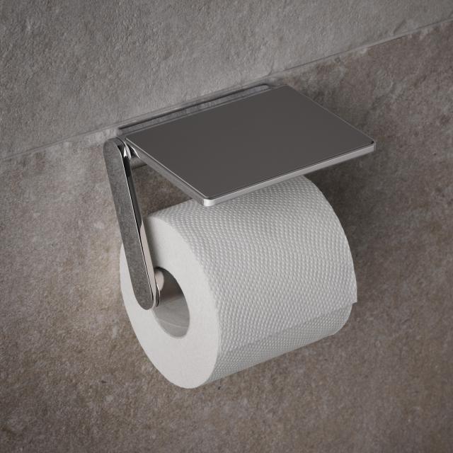 Keuco Plan Toilettenpapierhalter chrom/grau