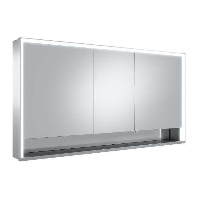 Keuco Royal Lumos Aufputz Spiegelschrank mit DALI-LED-Beleuchtung mit 3 Türen