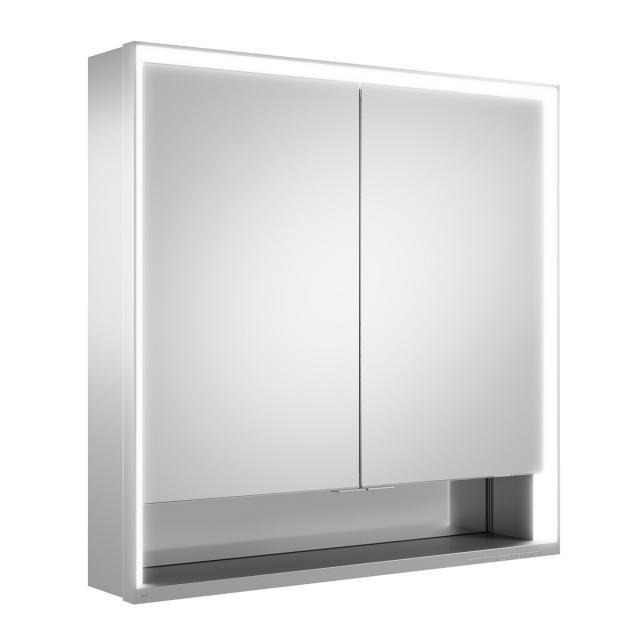 Keuco Royal Lumos Aufputz Spiegelschrank mit DALI-LED-Beleuchtung mit 2 Türen