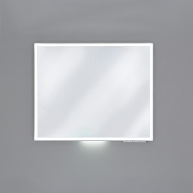 Keuco Royal Lumos Spiegel mit LED-Beleuchtung silber eloxiert, ohne Spiegelheizung