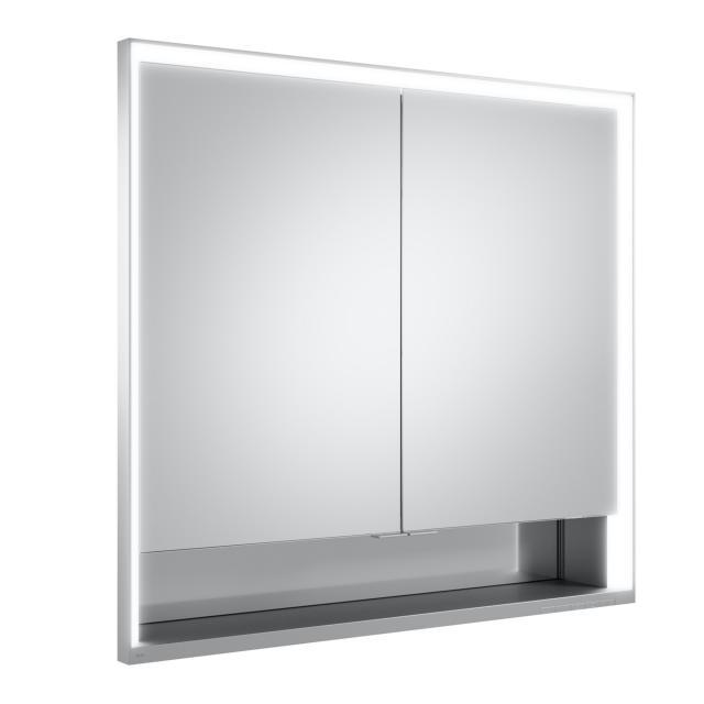 Keuco Royal Lumos Unterputz Spiegelschrank mit DALI-LED-Beleuchtung mit 2 Türen