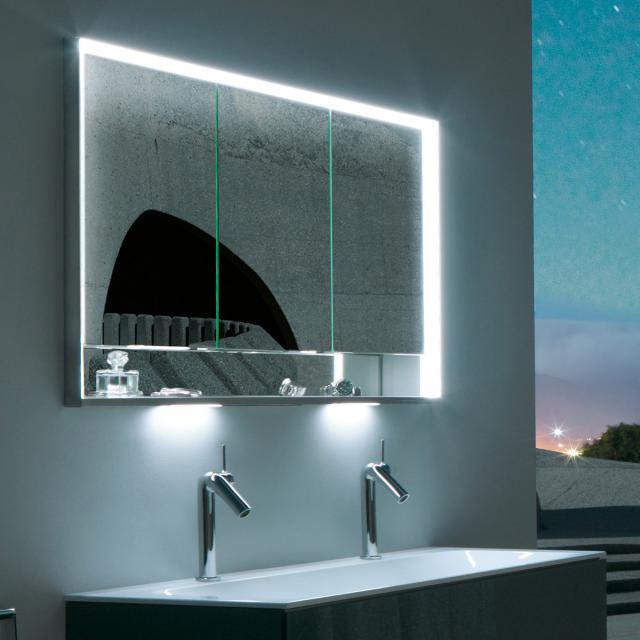 Keuco Royal Lumos Unterputz-Spiegelschrank mit LED-Beleuchtung