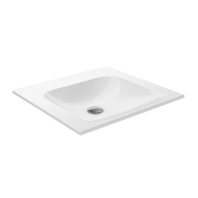 Keuco X-Line Keramik-Handwaschbecken ohne Hahnloch, ohne Überlauf