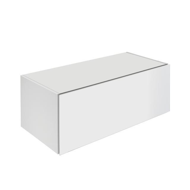 Keuco X-Line Sideboard mit 1 Auszug Front weiß / Korpus weiß matt