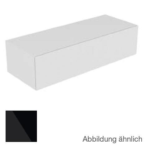 keuco edition 11 sideboard mit 1 auszug und led innenbeleuchtung front glas schwarz korpus lack. Black Bedroom Furniture Sets. Home Design Ideas