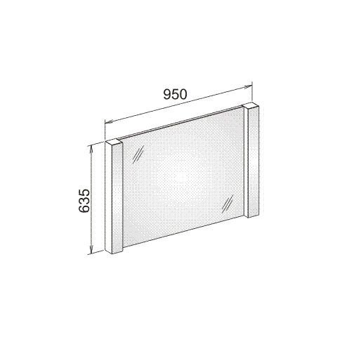keuco elegance lichtspiegel leuchtmittel au en weiss leuchtmittel innen weiss 11698012500 reuter. Black Bedroom Furniture Sets. Home Design Ideas