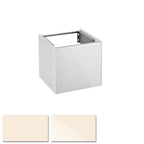 keuco royal reflex waschtischunterschrank mit 1 t r front glas magnolie korpus magnolie glanz. Black Bedroom Furniture Sets. Home Design Ideas