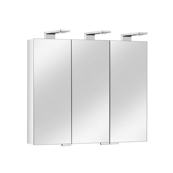 keuco royal universe spiegelschrank mit 3 t ren 12704171301 reuter. Black Bedroom Furniture Sets. Home Design Ideas