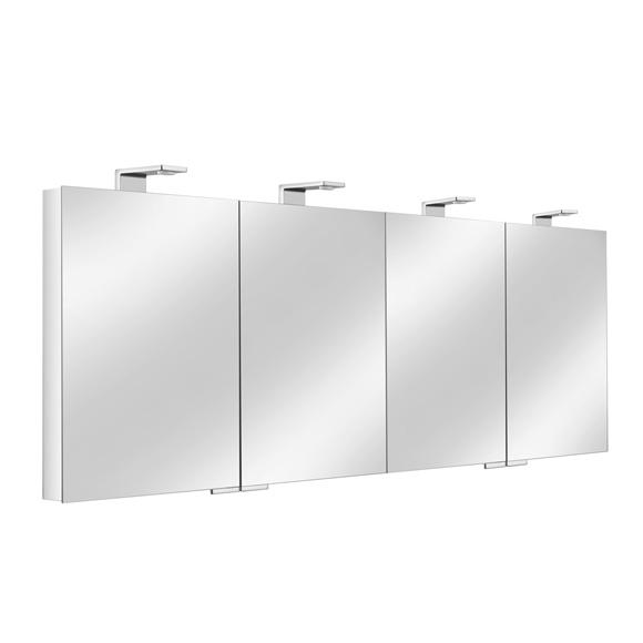 keuco royal universe spiegelschrank mit 4 t ren 12706171301 reuter. Black Bedroom Furniture Sets. Home Design Ideas