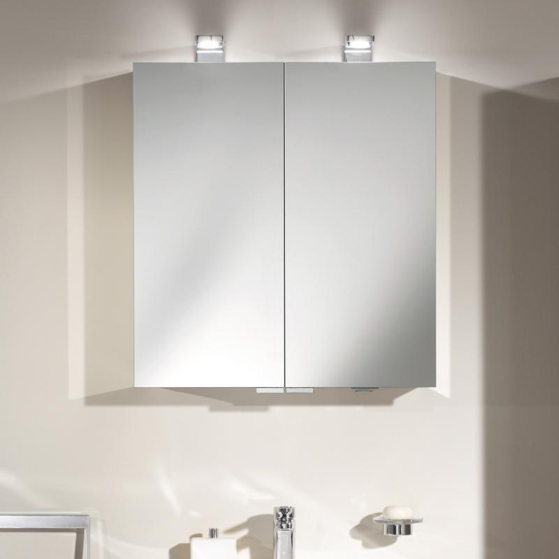 keuco royal universe spiegelschrank mit 2 t ren 12702171301 reuter. Black Bedroom Furniture Sets. Home Design Ideas