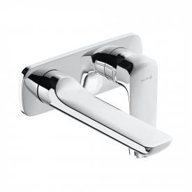 Kludi AMEO Unterputz-Waschtisch-Zweiloch-Wand-Einhandmischer Ausladung: 185 mm