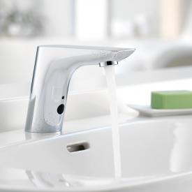 Kludi BALANCE E Elektronische Waschtischarmatur mit Temperaturregulierung, für Niederdruck batteriebetrieben