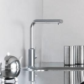Kludi L-INE S Küchenarmatur, Auslauf schwenkbar chrom