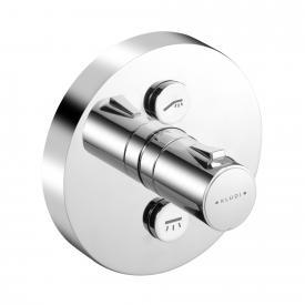 Kludi PUSH Unterputz-Brause-Thermostatarmatur, rund, 2 Verbraucher